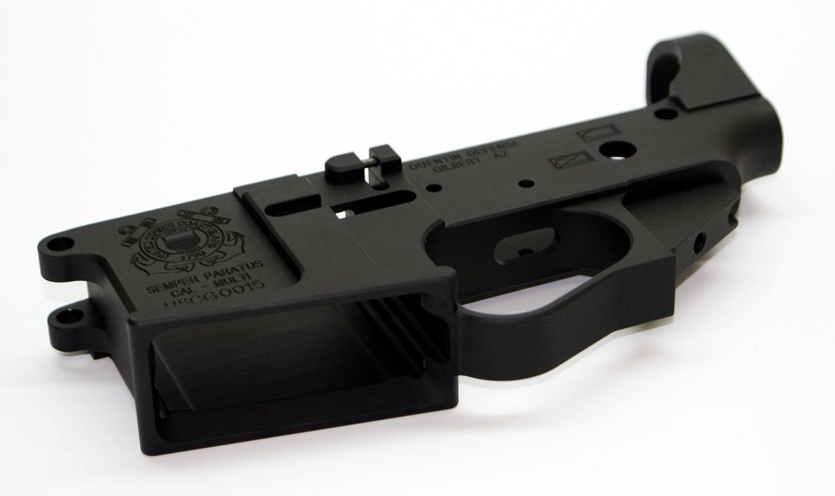 QD US Coast Guard AR-15 Lower Receiver
