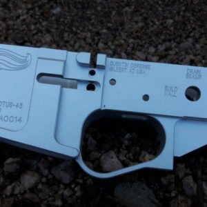 POTUS-45 billet AR-15 lower receiver from Quentin Defense