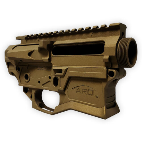 QUENTIN DEFENSE ARQ-15 BURNT BRONZE RECEIVER SET